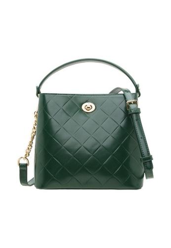 Valentino Creations green Valentino Creations Emellie Bucket Bag 2B421ACCC72577GS_1