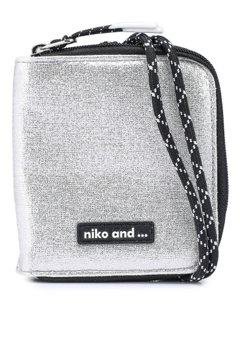 niko and ... grey Wallet With Strap 82794AC0B4C4CFGS_1
