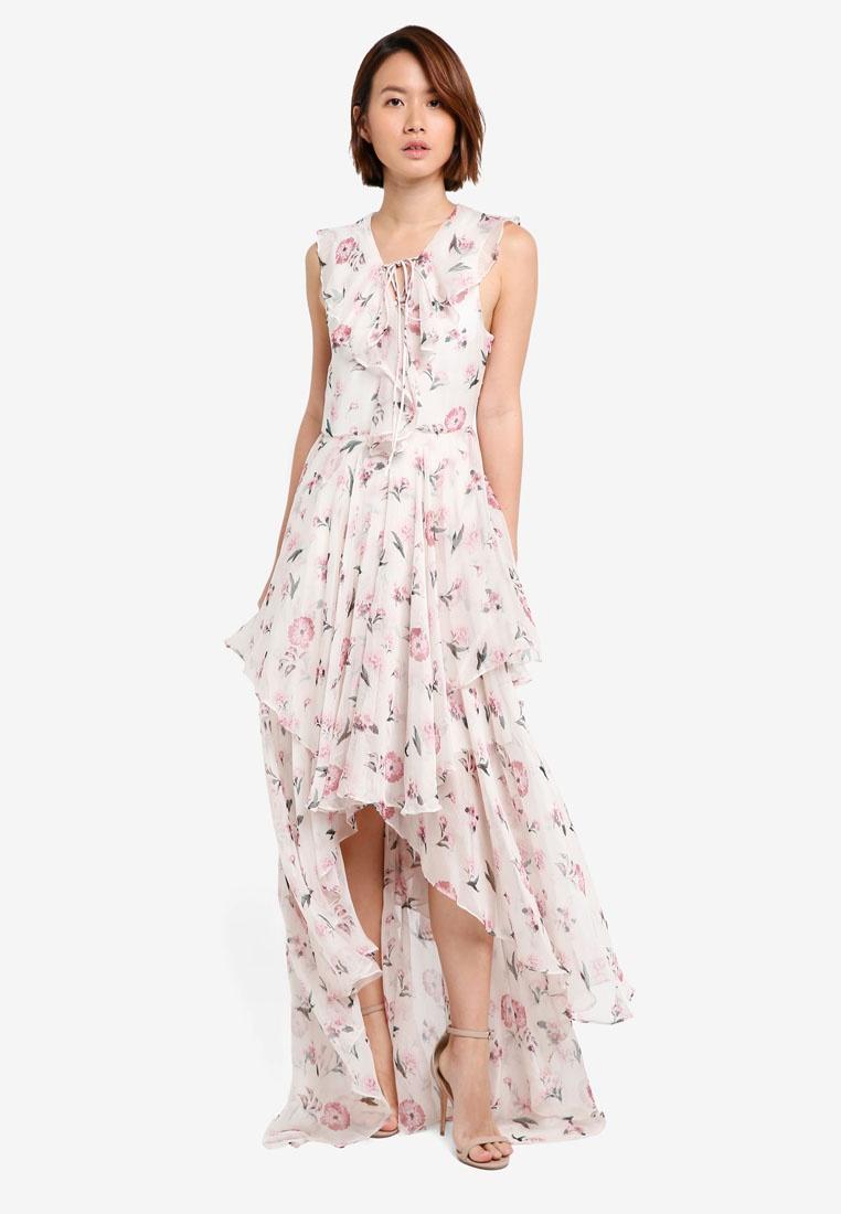 Most Star Sleeveless White A Flowers Y S Dress CqpvwrCz