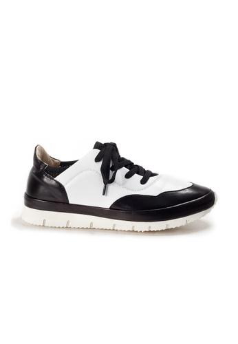 Shu Talk black XSA Comfortable Easy Wear Nappa Leather Sneakers CE63ESH3E106D5GS_1
