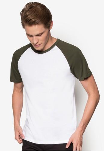 拼色尖沙咀 esprit拉克蘭短袖T 恤, 服飾, 服飾