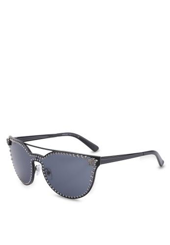 Versace grey Versace Sunglasses VE417GL58LEFMY_1
