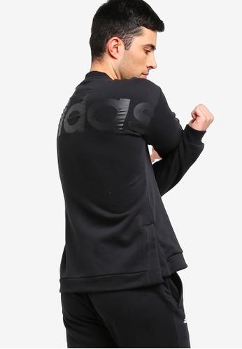 adidas 黑色 adidas id bl 訓練棉T F546BAA240694EGS_1
