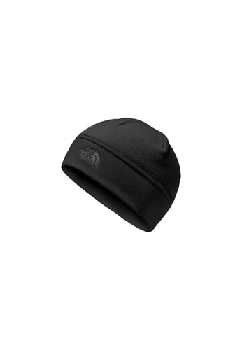 The North Face black and grey TNF TNF Standard Issue Beanie TNF Black / Asphalt Grey 65A4AAC73ADD28GS_1