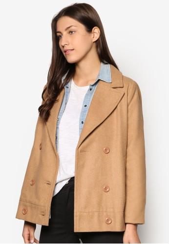 Collection 雙排扣外套、 服飾、 外套ZALORACollection雙排扣外套最新折價