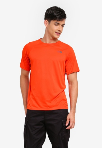 The North Face orange TNF M Flight Better Than Naked S/S Poinciana Orange A73F2AA1778F84GS_1