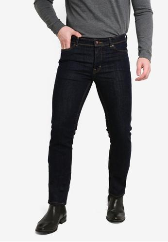 8deb5fe8b3 Shop MANGO Man Slim-Fit Dark Wash Jeans Online on ZALORA Philippines