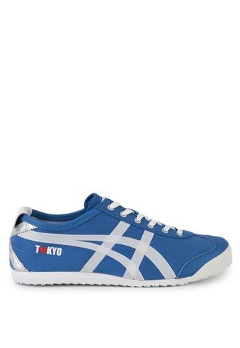 Onitsuka Tiger blue Mexico 66 Sneakers C4A6CSH1981B5FGS_1