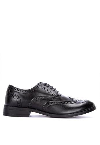 MARKS & SPENCER black Brogue Shoes 50938SH874BB03GS_1