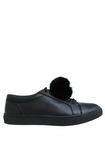 BENCH black Sneakers with Shoe Clips BE550SH0KFQMPH_1