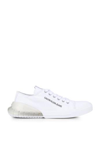 Calvin Klein white Munro Sneakers 6EF1DSH021E4C7GS_1
