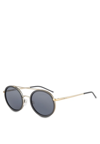 Emporio Armani black Trend EA2041 Sunglasses EM212GL0RNICMY_1