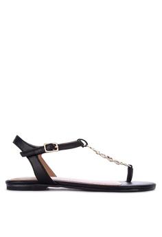 ca1c133ba6d0 AEROSOLES black Short Stack Thong Sandals 7BB59SH676C0BAGS 1