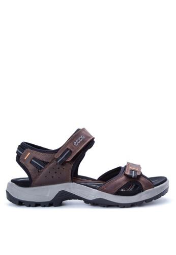 ECCO brown Off Road Sandals EC876SH62OEBPH_1