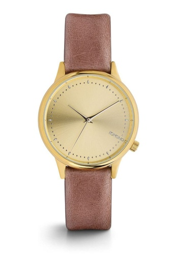 KOMONO pink and gold Estelle Lotus Watch KO163AC0T0T9MY_1