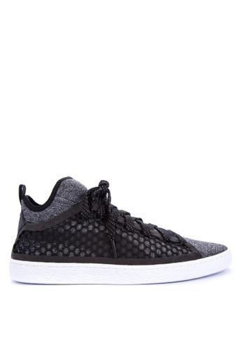 Puma black Basket Classic EverFit Sneakers E1FD7SHF5D198BGS_1