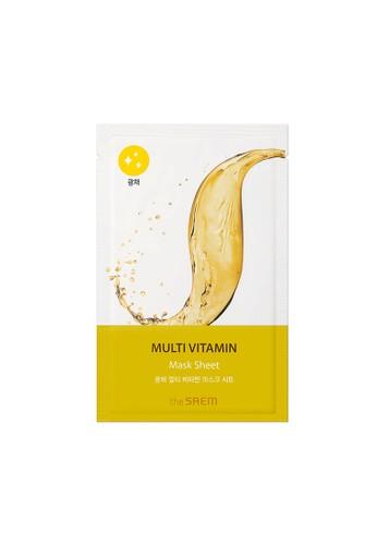 The Saem n/a Bio Solution Multi Vitamin Mask Sheet 09891BEF7E5AF0GS_1