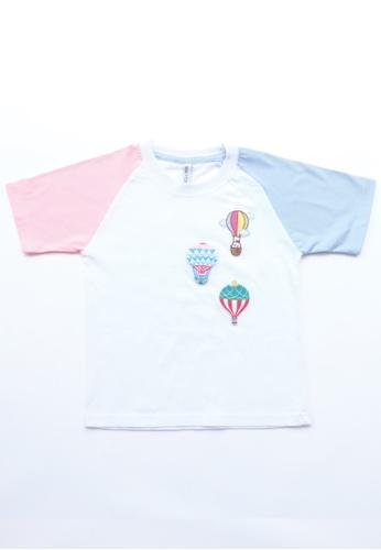 LITTLE TATARA white T-Shirt Raglan Patches 5AAE2KAC752F72GS_1