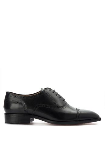 Bristol Shoes black Brooks Black Brogue Oxford BR842SH0KS57PH_1