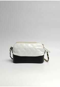 c69a3db607ef4a Lara black and white Women's Small Handbag With A Strap 6ECB8ACCB7BDB3GS_1