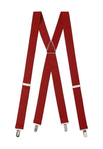 Buckle red Plain X-Back Braces 15447ACE2B4215GS_1