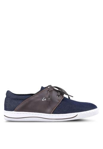 Louis Cuppers blue Denim Sneakers LO977SH0S9SJMY_1