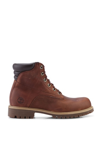 Timberland brown Alburn 6 Inch Waterproof Boots 70272SH3AEC654GS_1