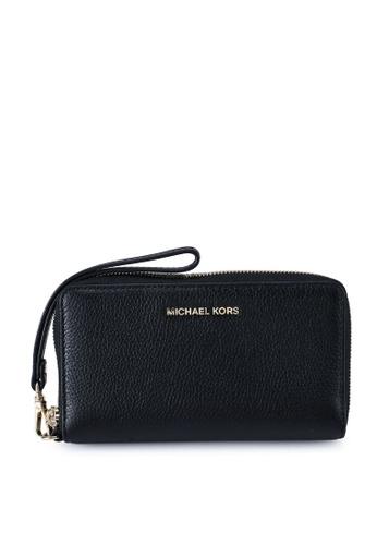 Michael Kors black Mercer L Wristlet (zt) 1ED15ACCC5657CGS_1