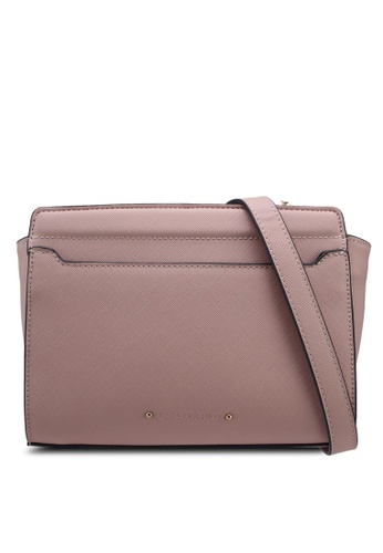 Forever New pink Marianne Crossbody Bag 3B667AC4061056GS_1