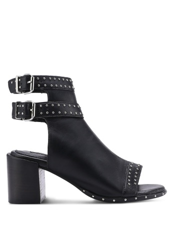 TOPSHOP black North Studded Heels TO412SH27GEQMY_1