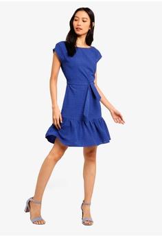 1c849ce11b 39% OFF ZALORA Cap Sleeves Dress RM 95.00 NOW RM 57.90 Sizes XS S M L XL
