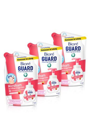 Bioré n/a Biore Hand Soap Fruity Antiseptic Pouch 250 Ml Triple Pack F07E1ES87A257AGS_1