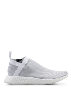 74b129fedda adidas white adidas originals nmd_cs2 primeknit shoes 48DAESHA188EEBGS_1