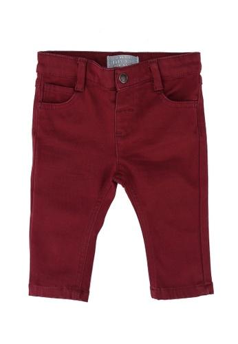 LC Waikiki red Slim Fit Trousers A4B2DKA1D64E42GS_1