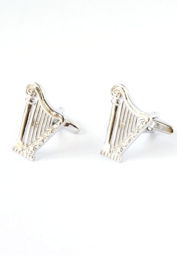 Splice Cufflinks Harp Music instrument Cufflinks SP744AC18DPLSG_1
