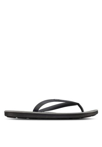 cd75daa73996b5 Nike black Solarsoft Thong Sandals 2 86BFBSHCA90349GS 1