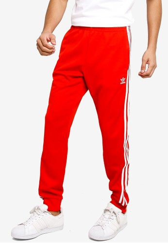 ADIDAS red sst trackpants prime blue F622DAAE5EA160GS_1