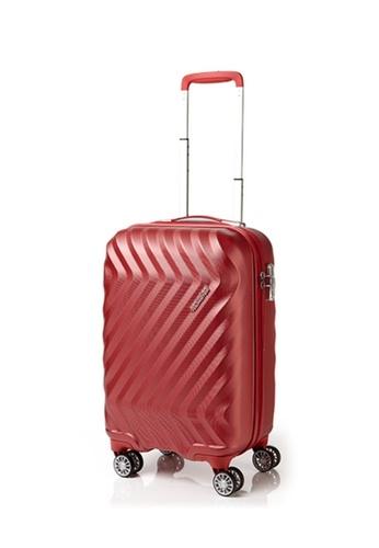 American Tourister red American Tourister Zavis Spinner 55/20 TSA TEXTURE AM536AC39EPGSG_1