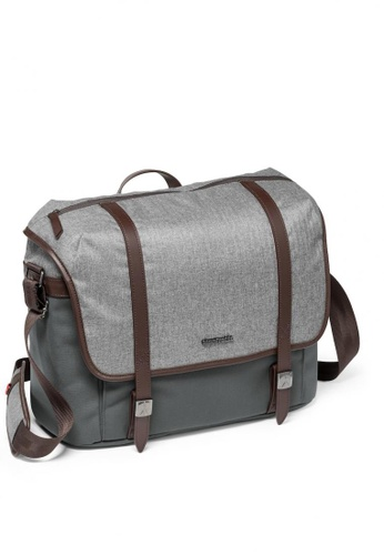 Manfrotto grey MB LF-WN-MM Lifestyle Windsor Messenger M MA133AC19QEQHK_1