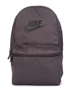 Nike black Unisex Nike Sportswear Heritage Backpack 1D8ADAC50289DDGS 1 9ba2800db34cc