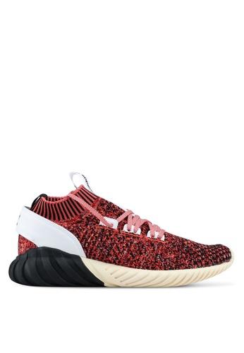 adidas red adidas originals tubular doom sock pk AD372SH0SUVNMY_1