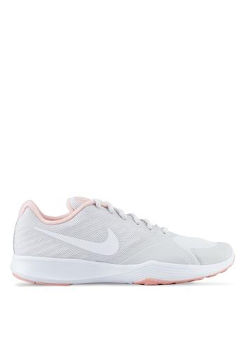 Nike grey Women's Nike City Trainer Shoes NI126SH0STXKMY_1