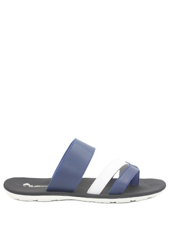 Dr. Kevin blue Dr. Kevin Men Sandals 97201 - Blue 570ABSH99064BFGS_1