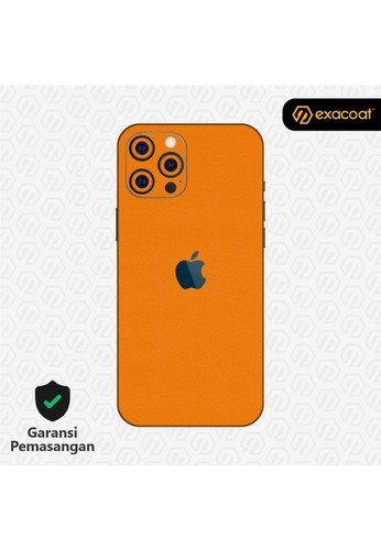 Exacoat iPhone 12 Pro / 12 Pro Max Skins True Colors - Pumpkin Orange ED07DESB07B06EGS_1
