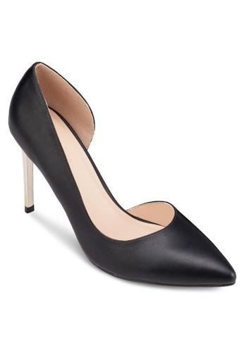 側zalora 手錶 評價鏤空尖頭高跟鞋, 女鞋, 鞋