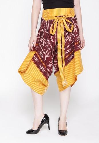 Batik Etniq Craft Drupadi Tenun Pants Br