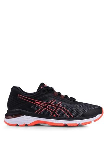 Asics black Gt-2000 6 Shoes E756ESH403D12AGS_1