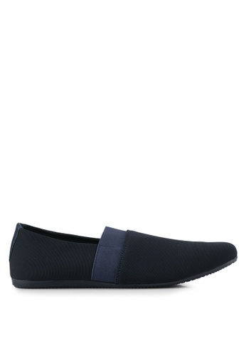 UniqTee navy Classic Textile Loafers UN097SH0SYS3MY_1