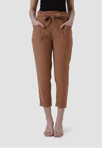 MISSISSIPPI brown Celana Panjang Wanita  B20030M Cokelat E7EE9AA780F6BBGS_1