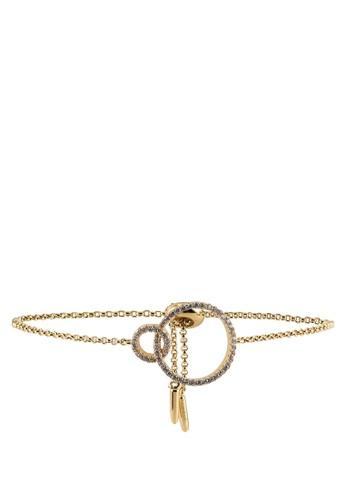 Megane gold Circle Adjustable Bracelet 07AF7AC39ACF7EGS_1